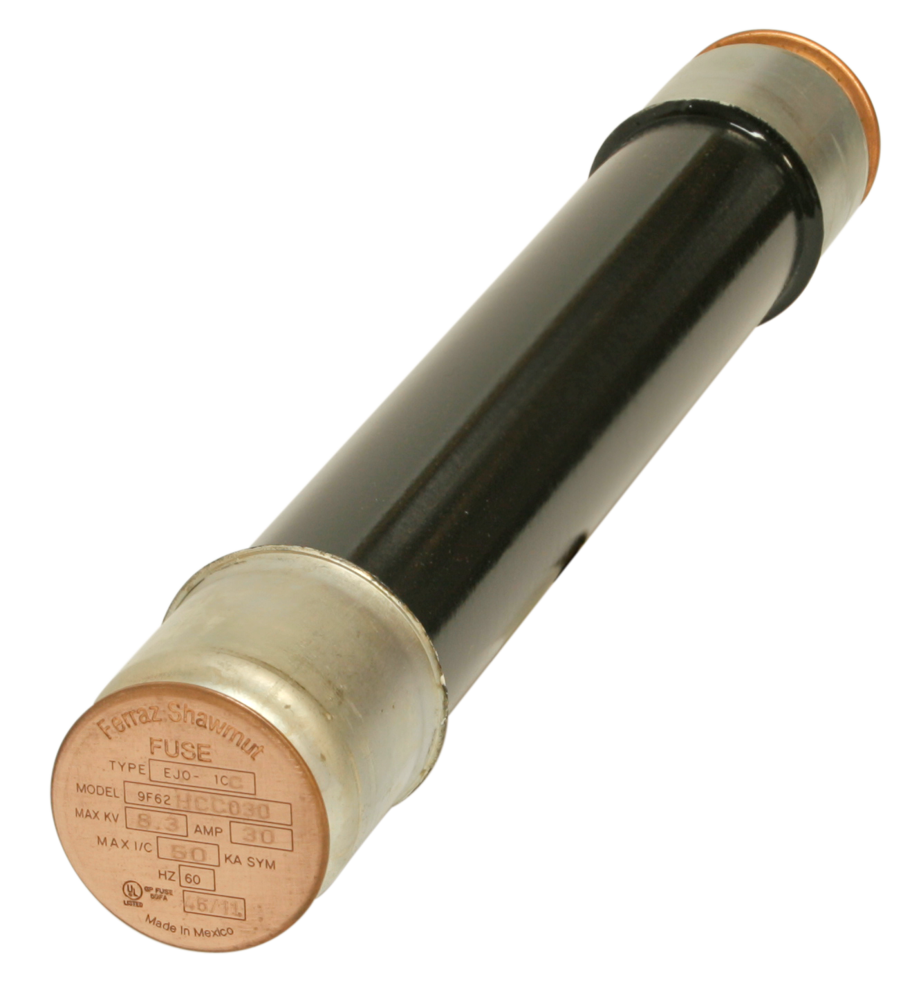 9F62DCC100 (GENERAL PURPOSE CL POWER FUSES)